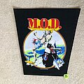 M.O.D. - Patch - M.O.D. - Surfin M.O.D. - 1988 Great Southern Company - Backpatch
