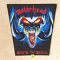 Motörhead - Rock 'n' Roll - Woven Backpatch