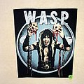 W.A.S.P. - Patch - W.A.S.P. - Blackie With Skulls - Backpatch