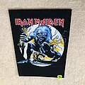 Iron Maiden - Patch - Iron Maiden - A Real Live One - Made in England Razamataz - Backpatch