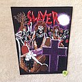 Slayer - Live Undead - Purple Version - Vintage Backpatch