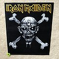 Iron Maiden - Patch - Iron Maiden - Eddie Skull & Bones - Backpatch