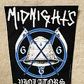 Midnight - Violators - Black Version - 2015 Scythe Industries - Backpatch