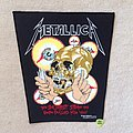 Metallica - Shortest Straw - 1989 Metallica - Brockum - Backpatch