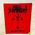 Hellhammer - Patch - Hellhammer - Satanic Rites - Backpatch
