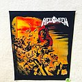 Hellween - Patch - Helloween - Walls Of Jericho - Backpatch