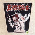 Exodus - Patch - Exodus - Bonded By Blood - Vintage Backpatch - Red Version