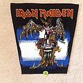Iron Maiden - Patch - Iron Maiden - The Evil That Men Do - Green Version - Vintage Backpatch