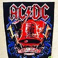 AC/DC - Patch - AC/DC - Hells Bells -  Backpatch