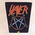 Slayer - Pentagram Logo - Vintage Backpatch