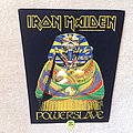 Iron Maiden - Patch - iron Maiden - Powerslave - 1984 Iron Maiden Holdings Ltd. - Backpatch