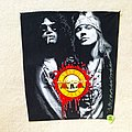 Guns N Roses - Patch - Guns 'n' Roses - Slash & Axl - Backpatch