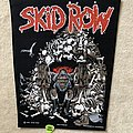 Skid Row - Patch - Skid Row - Monkey Business - 1991 Skid Row - Razamataz - Backpatch