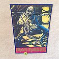 Iron Maiden - Patch - Iron Maiden - Piece Of Mind - Blue Border - Vintage Backpatch