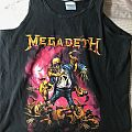 Megadeth Shirt - TShirt or Longsleeve - Megadeth tank top