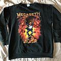 Megadeth - TShirt or Longsleeve - Megadeth sweatshirt