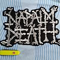 Napalm Death Logo – Embroidered Back Patch