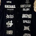My Crustcore vest Battle Jacket