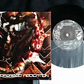 "Dawn of Azazel – Bloodforged Abdication 7"" Tape / Vinyl / CD / Recording etc"