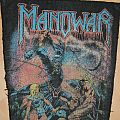 Manowar Stuning Backpatch org 80's