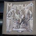 Manowar Battle hymns woven patch