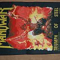 Manowar Triumph of Steel Backpatch org.