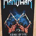 Manowar Gods of War org. Backpatch