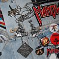 Manowar Necklace Pendant and PIN alchemy 92