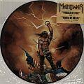 Manowar promo LP wheels of fire Kings of Metal