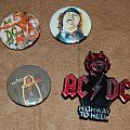 AC/DC pin buttons Angus