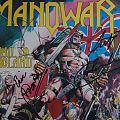 Manowar Hail to England signed