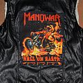 Manowar Hell on Earth lether vest