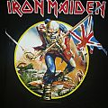 Iron maiden Somewhere back in time tour shirt 2008
