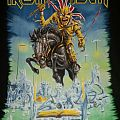 Iron maiden 2014 Maiden England tour shirt.