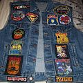 Thrash vest with voivod back patch