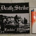 Death Strike - Patch - Death Strike - Fuckin' Death