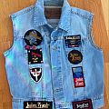 My Judas Priest vest Battle Jacket
