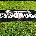 Tysondog stage banner.