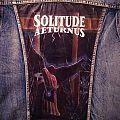 Solitude Aeturnus - Through the Darkest Hour - Painted Denim Jacket