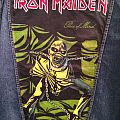 Iron Maiden - Piece of Mind - Painted Denim Jacket