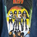KISS - Love Gun - Painted Denim Jacket