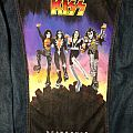 KISS - Destroyer - Painted Denim Jacket