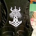 Manilla Road self made leather jacket