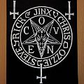 Coven handmade backpatch.