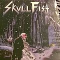 Skull Fist Chasing the Dream signed LP red