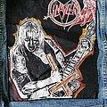 Slayer - Patch - Large Jeff Hanneman Back patch Slayer