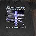 Fear factory - 20 years demanufacture tour shirt