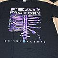 Fear Factory - TShirt or Longsleeve - Fear factory - Demanufacture shirt tour august 2016