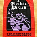Electric Wizard - Legalise Drugs And Murder Flag
