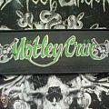 Patch - mötley crüe patch